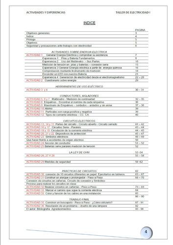 libro actividades y experiencias p/taller de electricidad i