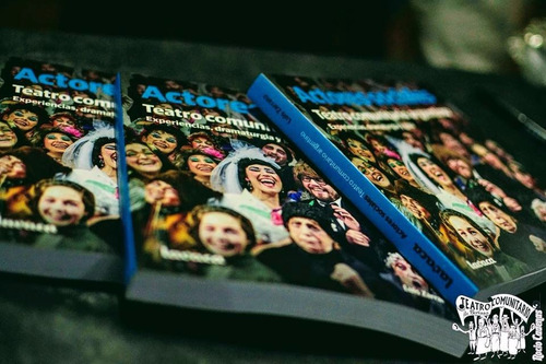libro  actores sociales. teatro comunitario argentino