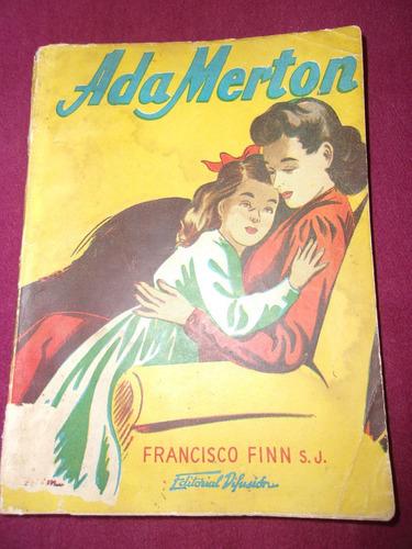 libro ada merton de francisco finn s.j.