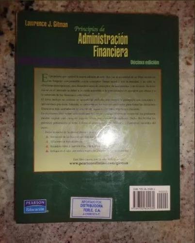 libro administración financiera lawrence gitman