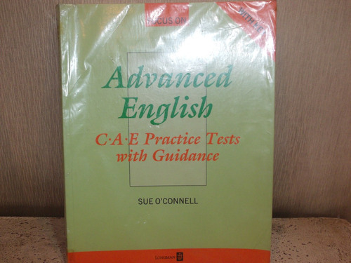 libro advanced english. cae pract tests with guidance.