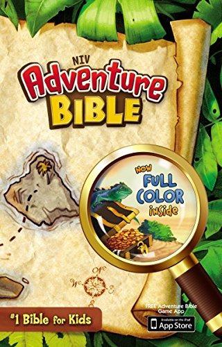 libro adventure bible: new international version - nuevo r