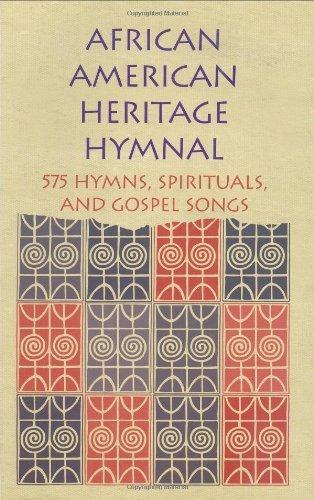 libro african american heritage hymnal: 575 hymns, spiritu