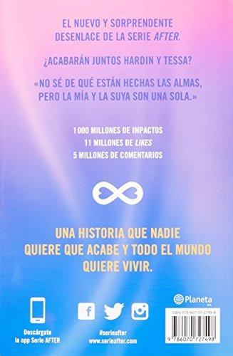 libro after. amor infinito - nuevo