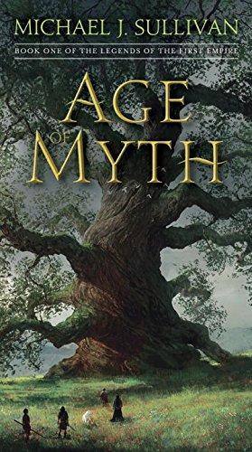libro age of myth - nuevo -