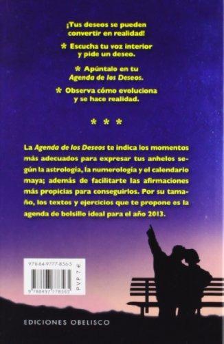 libro : agenda 2013 de los deseos (spanish edition)