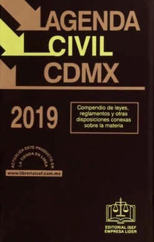 libro agenda civil de la ciudad de méxico 2019