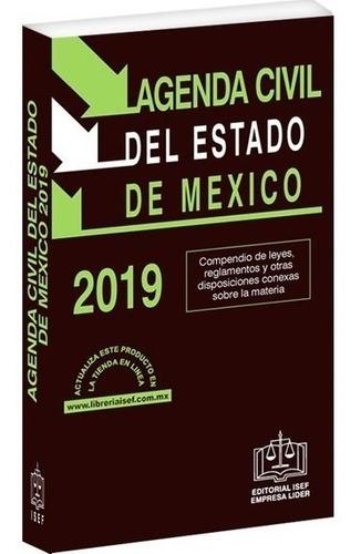 libro agenda civil del estado de méxico 2019