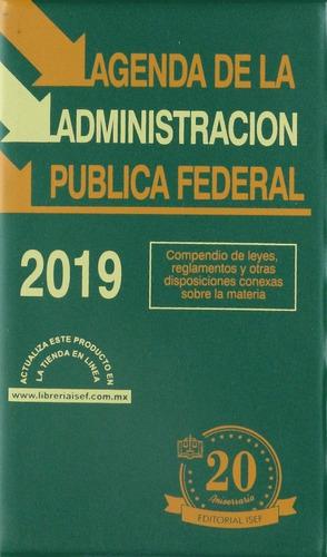 libro agenda de la administración pública federal 2019 isef