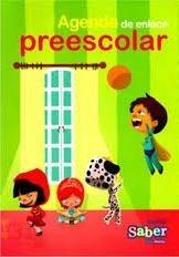 libro agenda enlace preescolar editorial saber