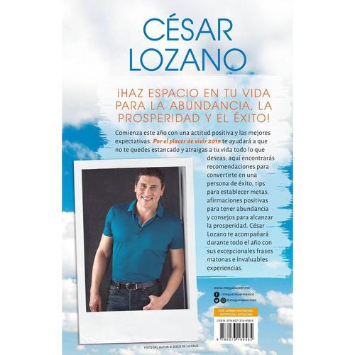 Por El Placer De Vivir Cesar Lozano | DESCARGAR LIBRO:
