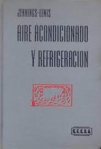 libro aire acondionado y refrigeracion ( mecanica )
