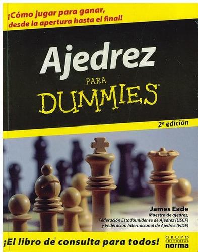 libro, ajedrez para dummies de james eade.