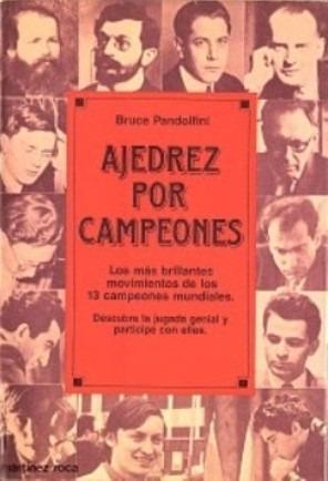 libro, ajedrez por campeones de bruce pandolfini.