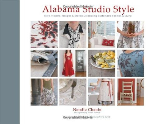 libro alabama studio style: more projects, recipes & stories