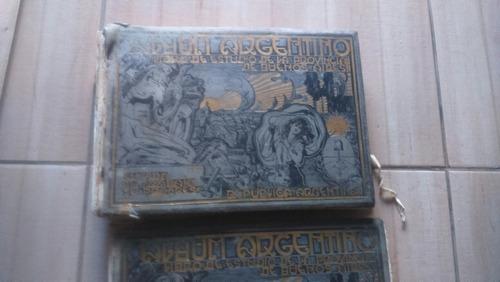 libro, álbum centenario de la argentina 1910