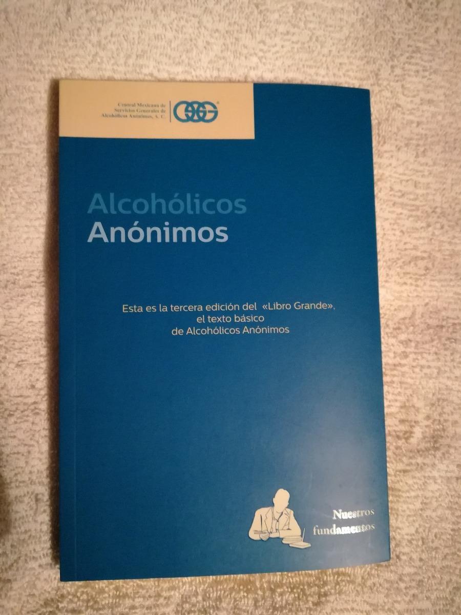 Libro Alcohólicos Anónimos (nuevo). - $ 250.00 en Mercado