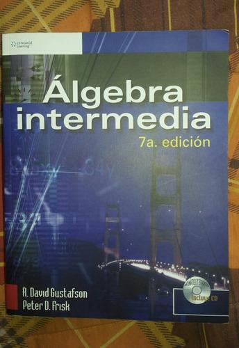 libro álgebra intermedia 7° edición