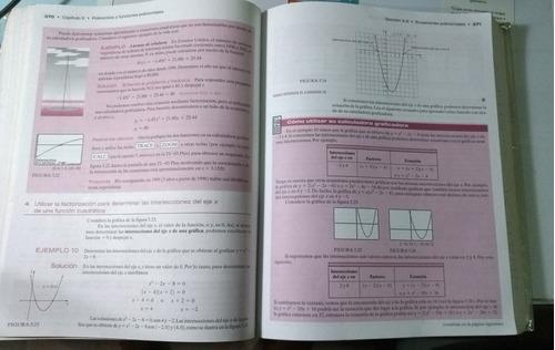 libro álgebra intermedia allen angel. sexta edición