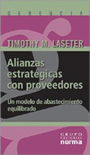 libro, alianzas estrategicas con proveedores timothy laseter