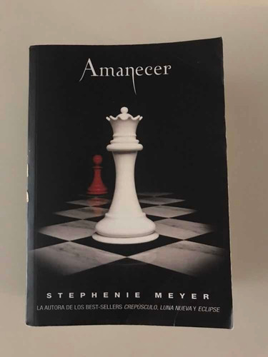 libro amanecer / saga crepúsculo / stephenie meyer / usado