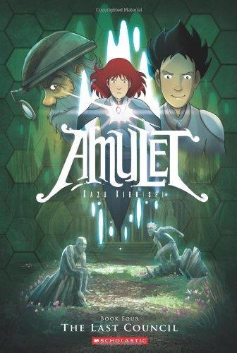 libro amulet 4: the last council - nuevo