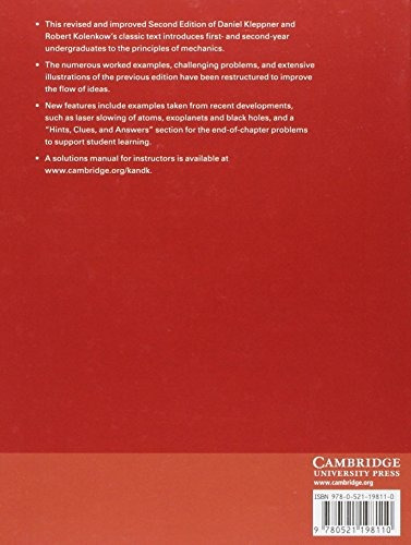 libro an introduction to mechanics - nuevo