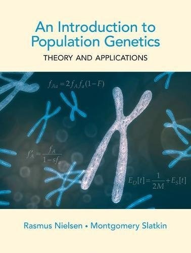 libro an introduction to population genetics: theory and a