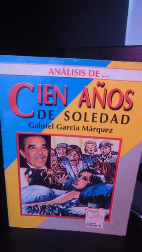 libro análisis de la novela cien años de soledad panapo