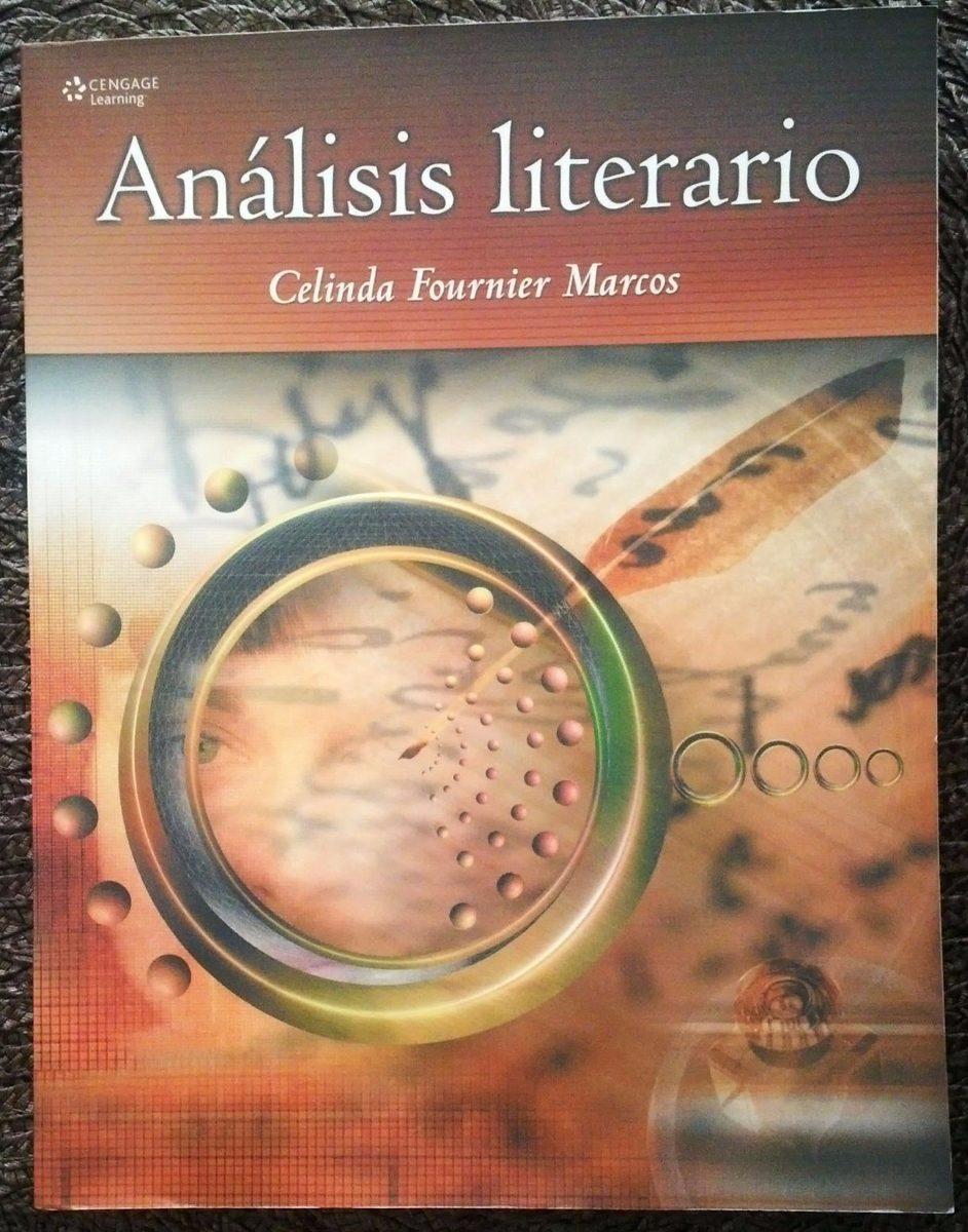 Libro Análisis Literario De Celinda Fournier Marcos -cengage - Bs ...