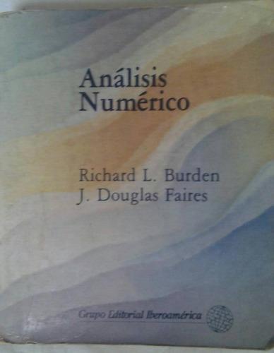 libro análisis numérico