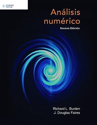 libro analisis numerico burden