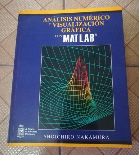 libro análisis numérico y visualización gráfica con matlab