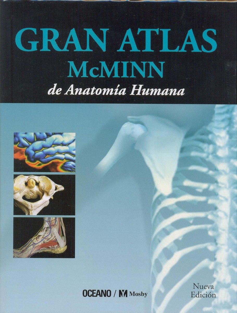 Libro De Anatomía Gran Atlas Mcminn De Anatomía Humana - $ 1,690.00 ...