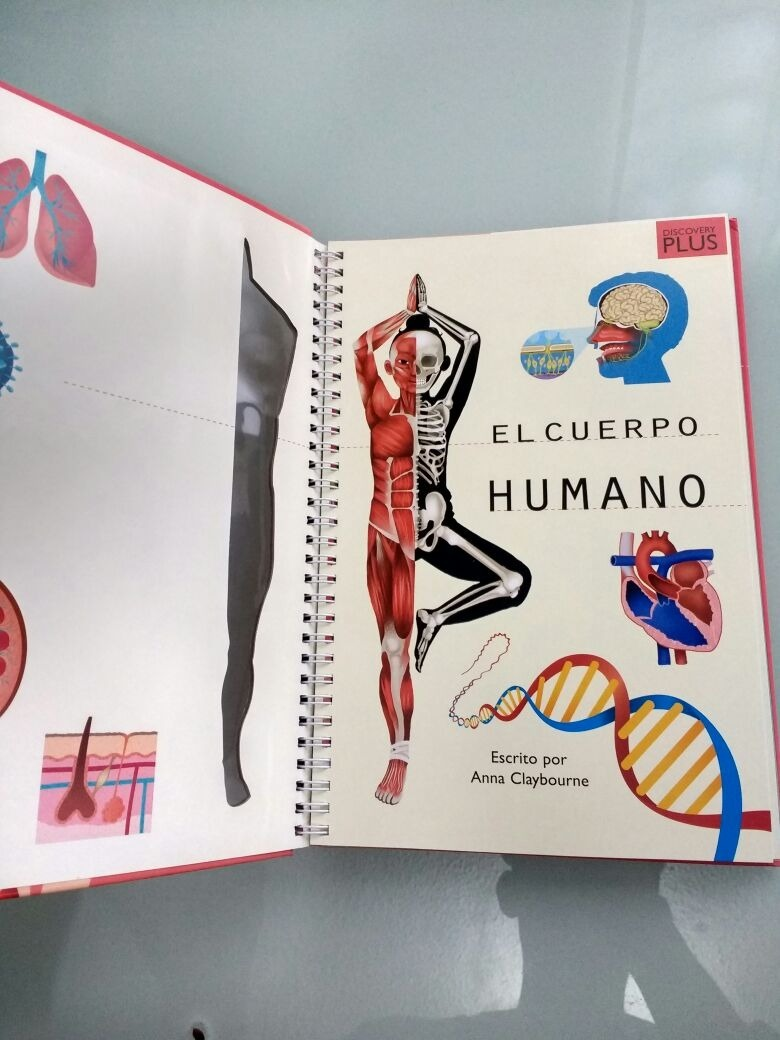 Libro Anatomía Del Cuerpo Humano, Con Efectos 3d Y Más - $ 499.00 en ...