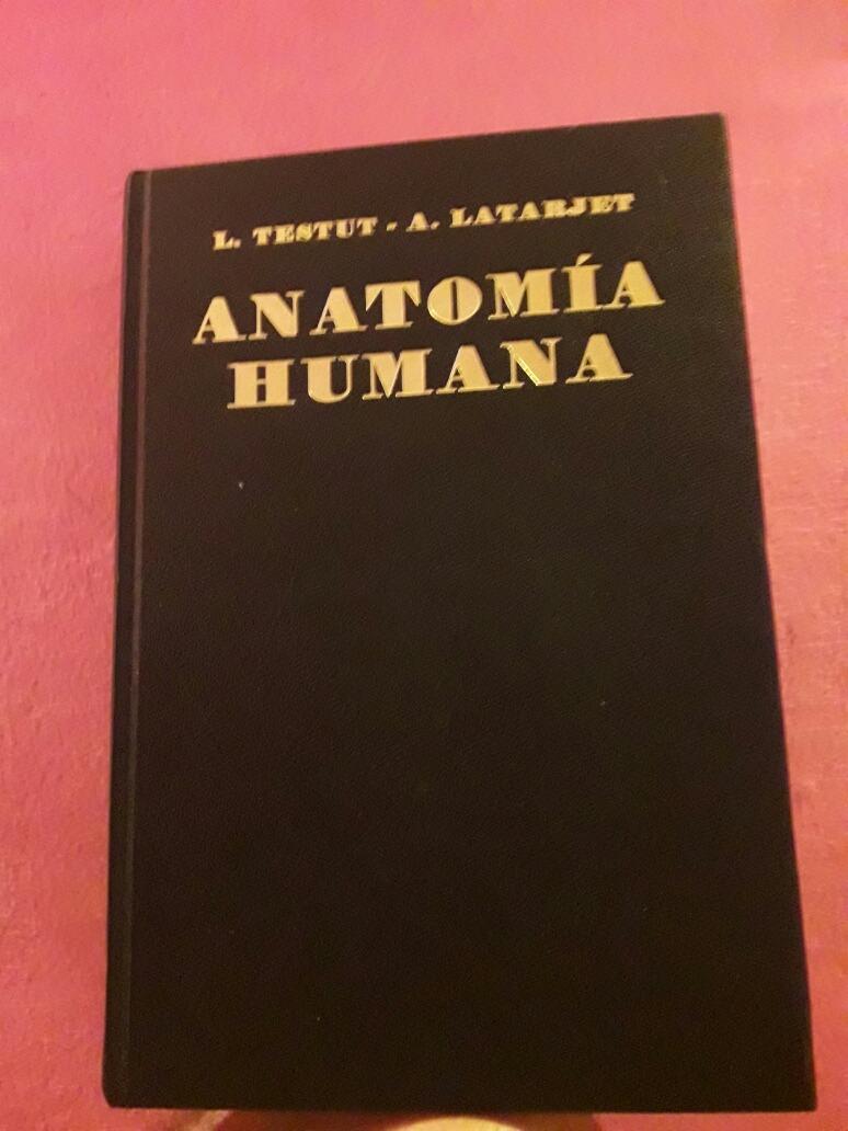 Libro Anatomía Humana L.testut A. Latarjet - $ 2.200,00 en Mercado Libre