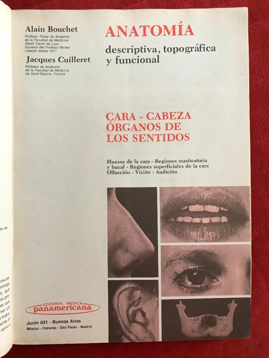 Libro-- Anatomia Humana-tomo Cabeza- Cara -organos Sentidos - Bs ...
