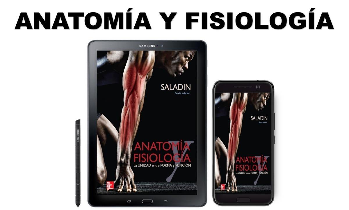 Encantador Anatomía Y Fisiología Saladino 6ª Edición Ilustración ...