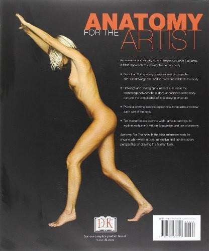 libro anatomy for the artist - nuevo