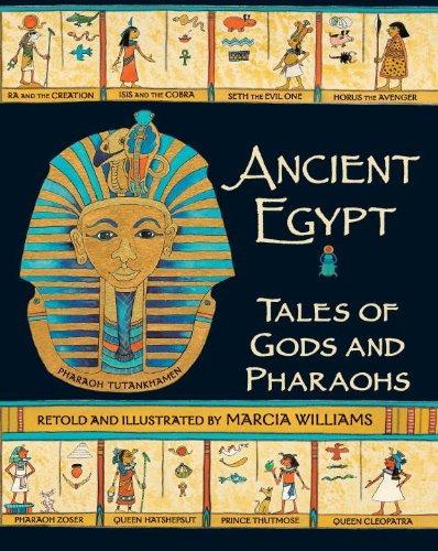 libro ancient egypt: tales of gods and pharaohs - nuevo