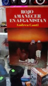new style 9f84f e5494 Libro Andrea Conti Rojo Amanecer En Afganistán Tomo Completo