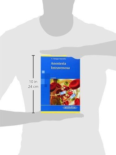 libro anestesia intravenosa - nuevo -