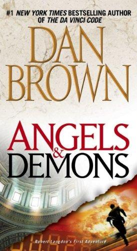 libro angels & demons - nuevo