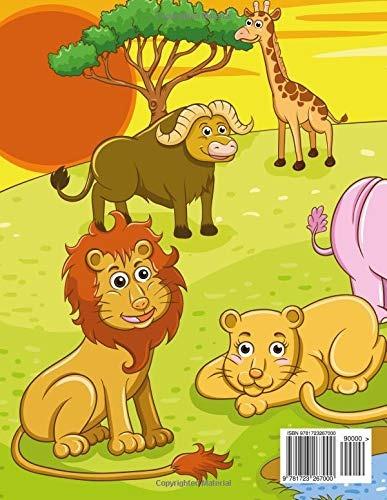 Libro Animales De La Jungla Libro Para Colorear 2 Volume 989