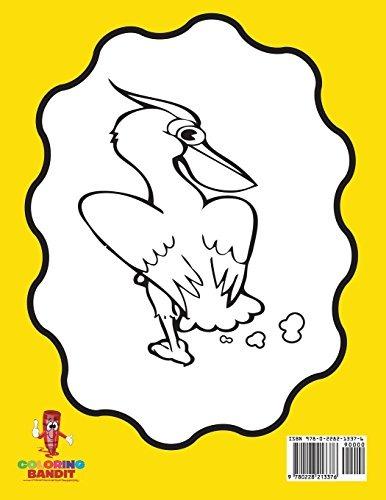 Libro : Animales Esponja Adultos Colorear Libro Animales... - $ 679 ...
