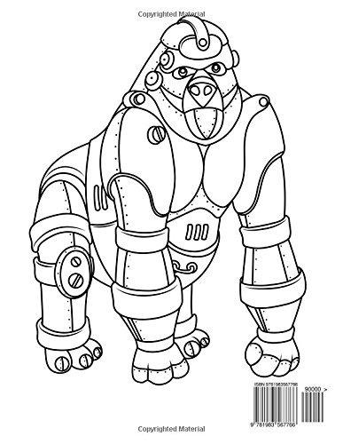 Libro : Animales Robot Libro Para Colorear 1 (volume 1) -.. - $ 899 ...