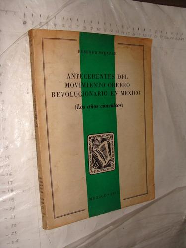 libro antecedentes del movimiento obrero revolucionario en m