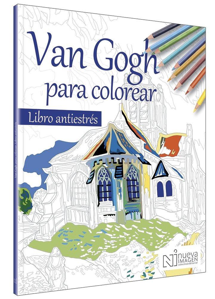 Libro Antiestrés Van Gogh Para Colorear - $ 50.00 en Mercado Libre