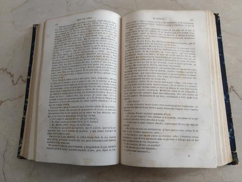 libro antiguo 1857 larra mariano josé obras fígaro (40d)