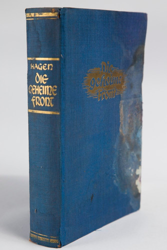 libro antiguo, die geheime front